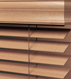 window blinds brands wood